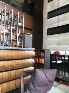 マンダリン・オリエンタルホテルでお茶。