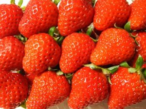 「果物」も実はウケがいい。
