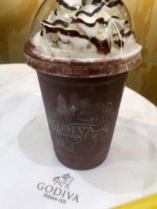 ゴディバのチョコドリンク